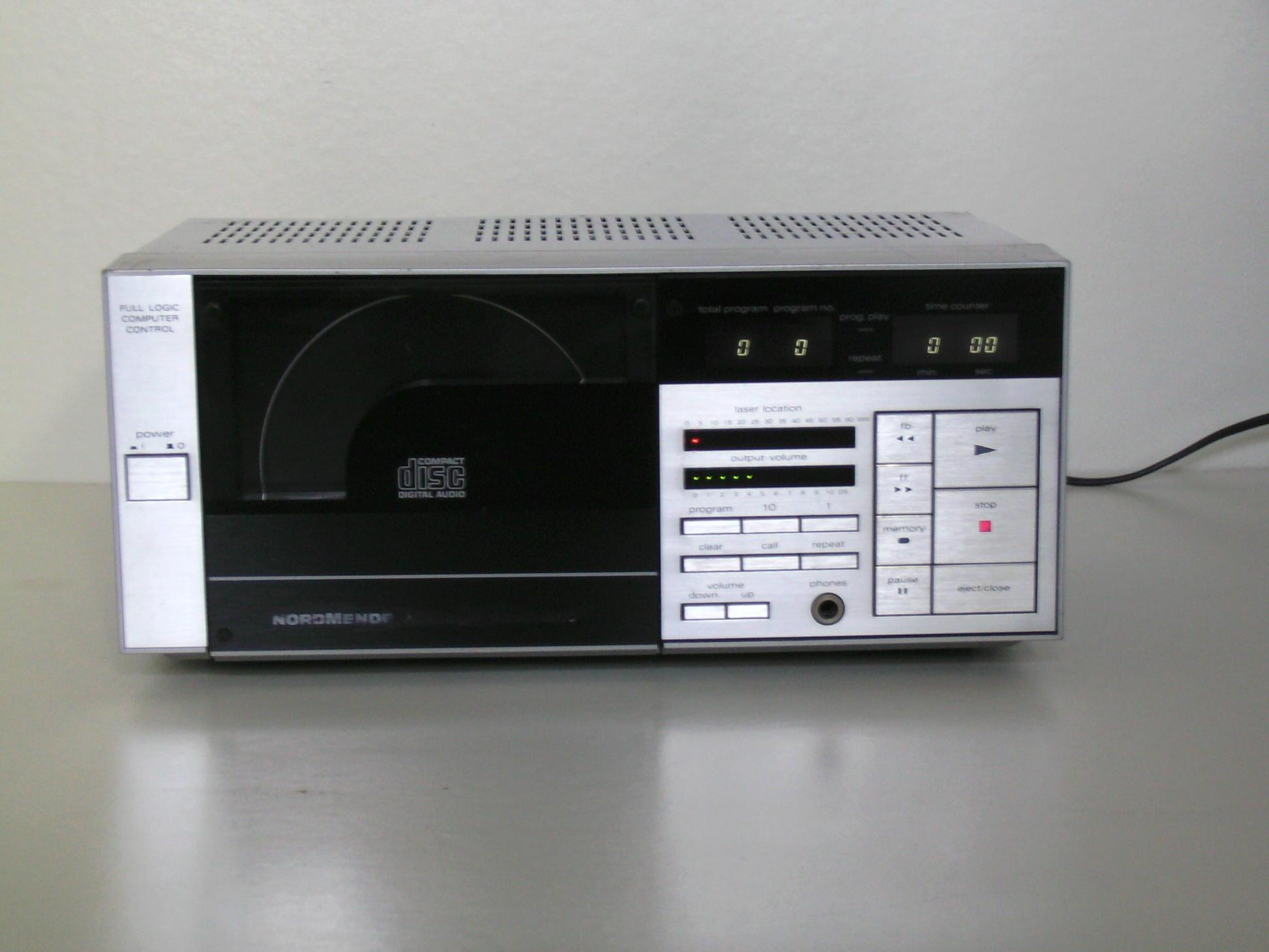 andere nordmende cd spieler system 2000 gebraucht hifi. Black Bedroom Furniture Sets. Home Design Ideas