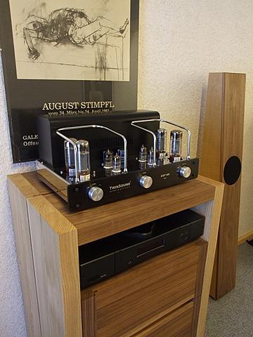 klangharmonie aus massiven edelh lzern hifi gebraucht kaufen und verkaufen hifi anlagen f r. Black Bedroom Furniture Sets. Home Design Ideas